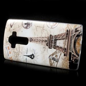 Softy gelový obal na mobil LG G4 - Eiffelova věž - 2