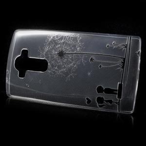 Softy gélový obal pre mobil LG G4 - zamilovaný pár - 2