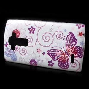 Softy gelový obal na mobil LG G4 - motýlek - 2