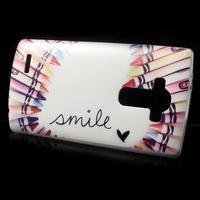 Softy gelový obal na mobil LG G4 - smile - 2/5