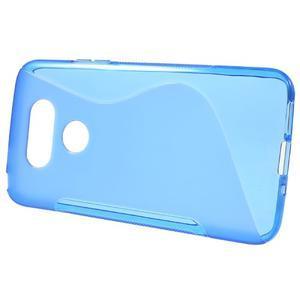 S-line gélový obal pre mobil LG G5 - modrý - 2