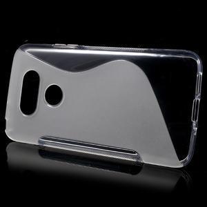 S-line gélový obal pre mobil LG G5 - transparentný - 2