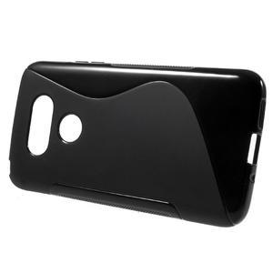 S-line gelový obal na mobil LG G5 - černý - 2