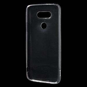 Ultrantenký slim gelový obal na LG G5 - transparentní - 2