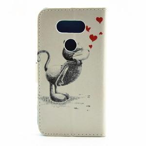 Puzdro na mobil LG G5 - zamilovaný kocour - 2