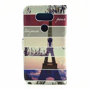 Puzdro na mobil LG G5 - Eiffelova věž - 2