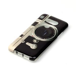 Gélový obal pre mobil LG G5 - retro foťák - 2