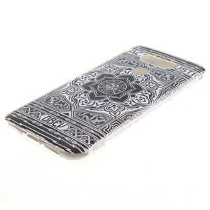 Softy gelový obal na mobil LG G5 - retro květina - 2