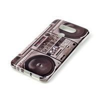 Gélový obal pre mobil LG G5 - retro radio - 2/3