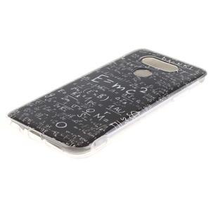 Softy gélový obal pre mobil LG G5 - vzorčeky - 2