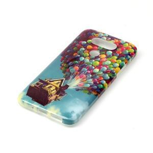 Gélový obal pre mobil LG G5 - vznášajúce sa balónky - 2
