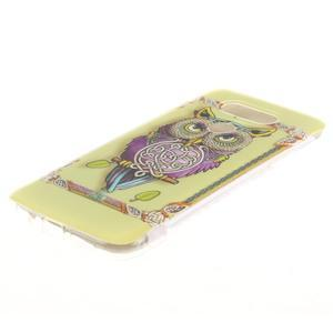 Softy gelový obal na mobil LG G5 - sova - 2