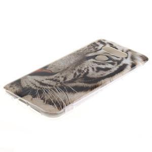 Softy gélový obal pre mobil LG G5 - biely tygr - 2