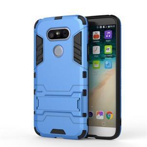 Odolný kryt pre mobil LG G5 - svetlomodrý - 2