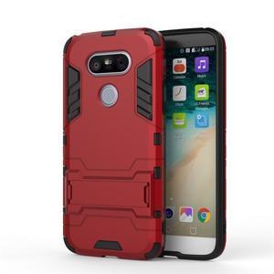 Odolný kryt pre mobil LG G5 - červený - 2