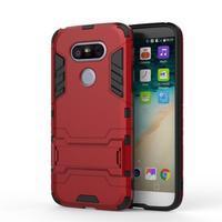 Odolný kryt pre mobil LG G5 - červený - 2/3