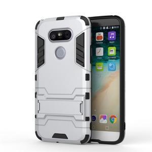 Odolný kryt pre mobil LG G5 - strieborny - 2