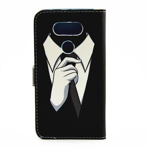 Puzdro na mobil LG G5 - gentleman - 2