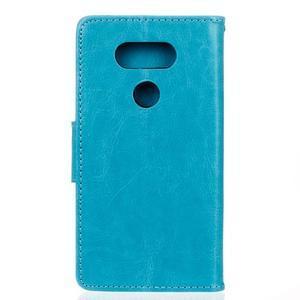 Lees peňaženkové puzdro pre LG G5 - modré - 2