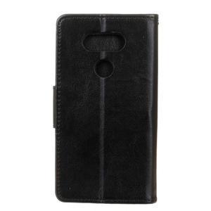 Lees peňaženkové puzdro pre LG G5 - čierne - 2