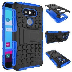 Outdoor odolný obal na mobil LG G5 - modrý - 2
