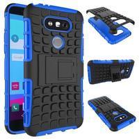 Outdoor odolný obal na mobil LG G5 - modrý - 2/2