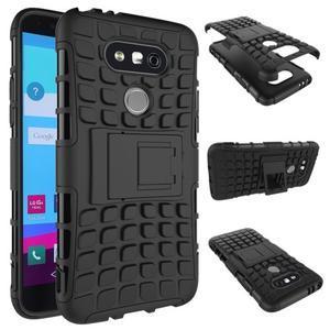 Outdoor odolný obal na mobil LG G5 - černý - 2
