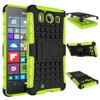 Outdoor odolný kryt pre mobil Microsoft Lumia 950 - zelený - 2/3