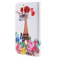 Peněženkové pouzdro na Microsoft Lumia 950 - Eiffelova věž - 2/7