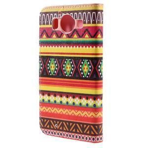 Peňaženkové puzdro pre Microsoft Lumia 950 - tribal - 2