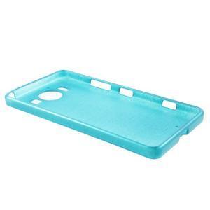 Brush hladký gelový obal na Microsoft Lumia 950 - modrý - 2