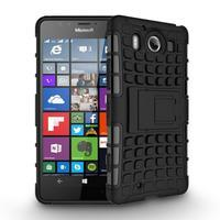 Outdoor odolný kryt na mobil Microsoft Lumia 950 - černý - 2/3