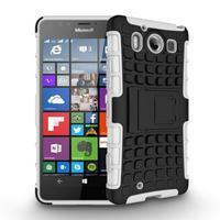 Outdoor odolný kryt pre mobil Microsoft Lumia 950 - biely - 2/3