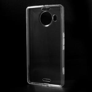 Transparentný gélový obal pre Microsoft Lumia 950 XL - 2