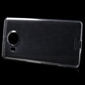 Ultratenký gélový obal pre Microsoft Lumia 950 XL - Transparentný - 2