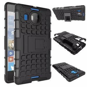 Odolný outdoor obal na mobil Microsoft Lumia 950 XL - černý - 2