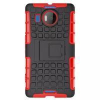 Odolný outdoor obal pre mobil Microsoft Lumia 950 XL - červený - 2/7