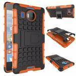 Odolný outdoor obal pre mobil Microsoft Lumia 950 XL - oranžový - 2/2