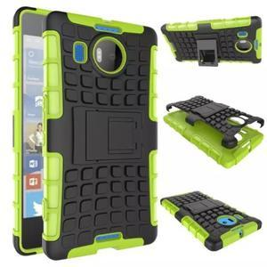 Odolný outdoor obal na mobil Microsoft Lumia 950 XL - zelený - 2