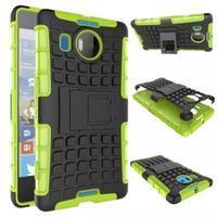 Odolný outdoor obal pre mobil Microsoft Lumia 950 XL - zelený - 2/2