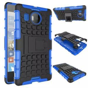 Odolný outdoor obal na mobil Microsoft Lumia 950 XL - modrý - 2