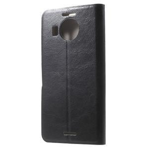 Horse Peňaženkové puzdro pre Microsoft Lumia 950 XL - čierne - 2