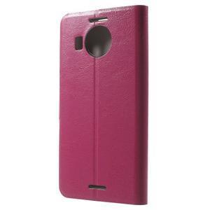 Horse peněženkové pouzdro na Microsoft Lumia 950 XL - rose - 2