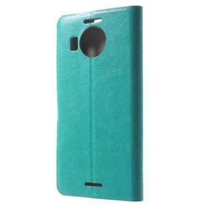 Horse Peňaženkové puzdro pre Microsoft Lumia 950 XL - modré - 2