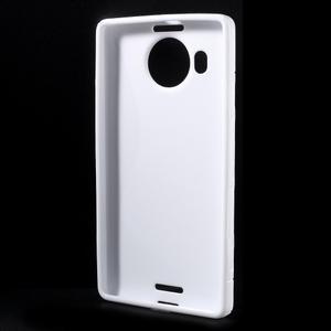 S-line gélový obal pre mobil Microsoft Lumia 950 XL - biely - 2