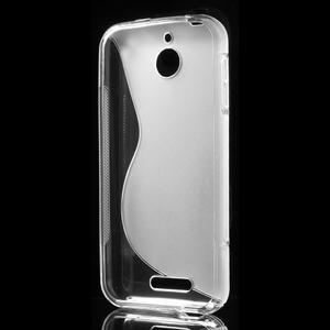 S-line gélový obal pre mobil HTC Desire 510 - transparentný - 2