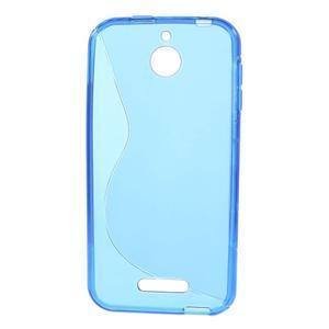 S-line gélový obal pre mobil HTC Desire 510 - modrý - 2