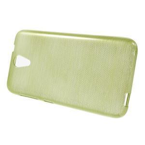 Brushed hladký gélový obal pre HTC Desire 620 - zelený - 2