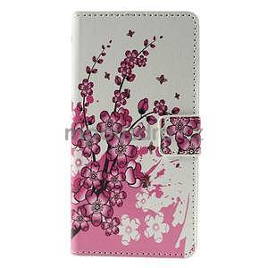 Peňaženkové puzdro Huawei Y635 - kvitnúca vetvička - 2