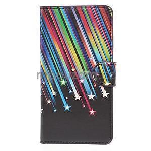 Zapínacie peňaženkové puzdro Huawei Y635 - meteor - 2